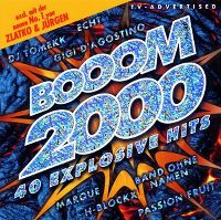 Cover  - Booom 2000 - 40 explosive Hits [The Third]